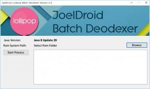 JoelDroid deodexer