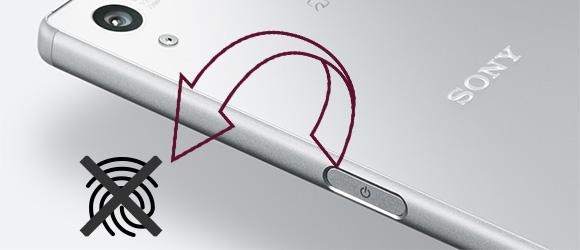 US版Z5には指紋センサーなし