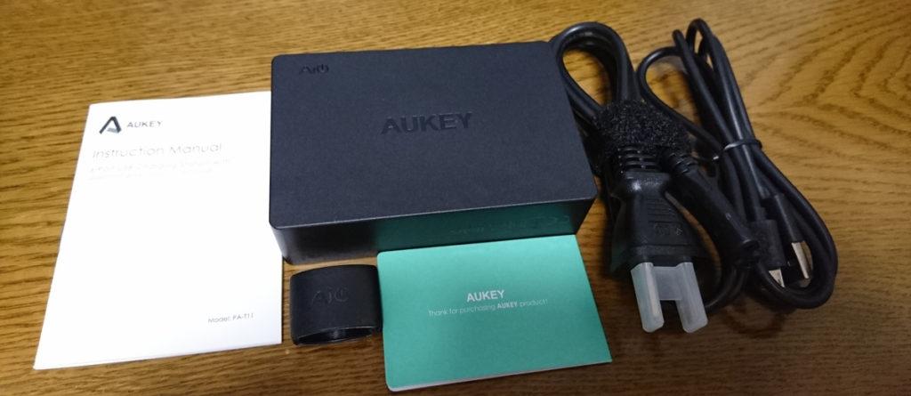 Aukey 6ポート 66W USB急速充電器