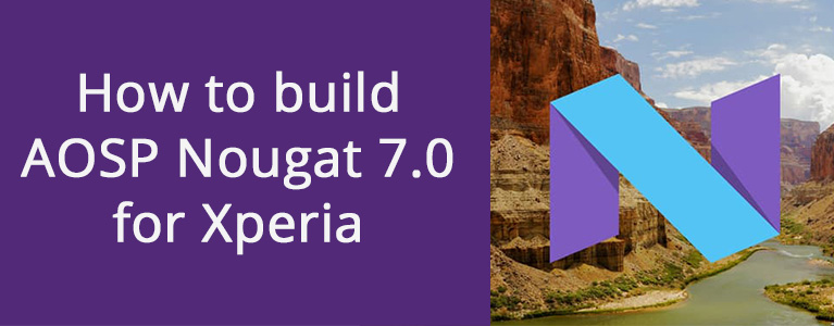 Xperia N build