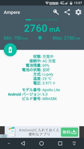 2780mAh程度