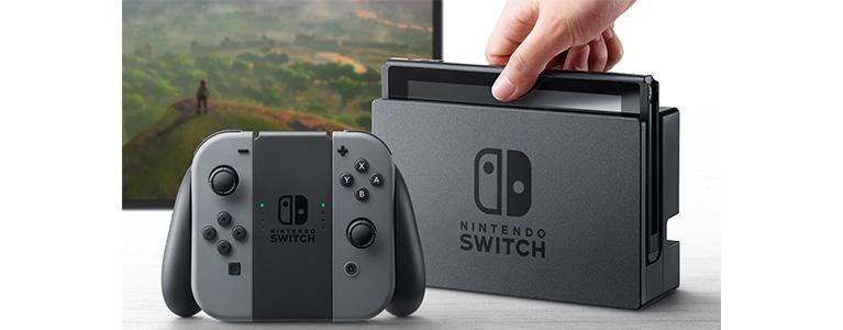 任天堂、Nintendo Switchを発表。据え置き機と携帯機のハイブリッド