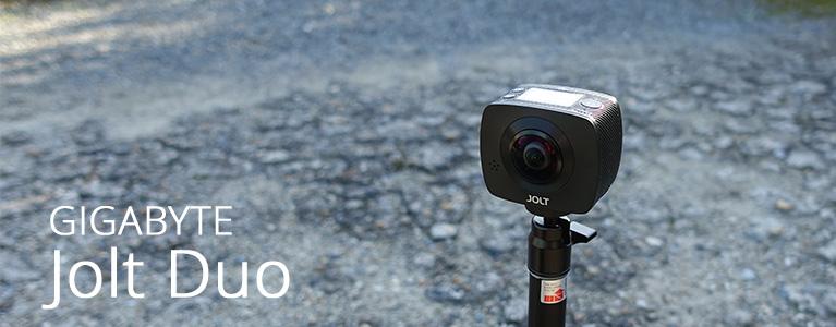 GIGABYTE Jolt Duo 360 Cameraレビュー。ストリートビューのような全方位動画を簡単撮影!
