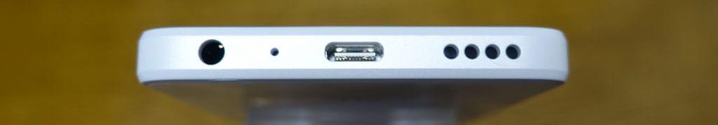 USB Type-Cにイヤホンジャック