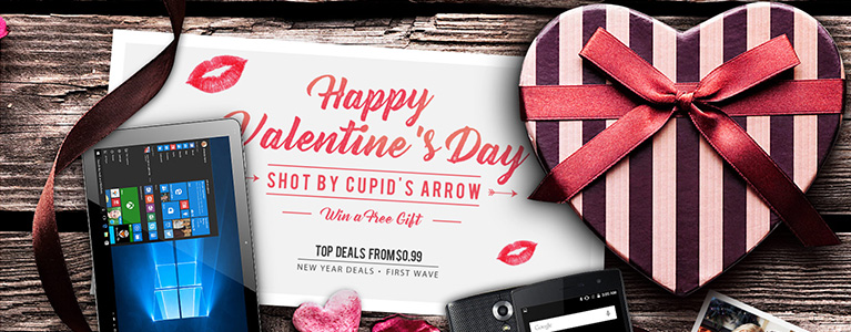 GearBest、バレンタインデーセール開催。Honor 8やXiaomi Mi5などがお得な価格に