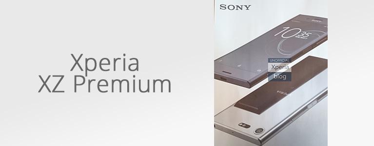 Xperia XZ Premiumのレンダー画像がリーク。Z5Pのような鏡面仕上げの背面に。