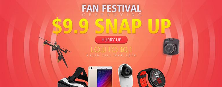 GeekBuying、OnePlus 3Tが$429.99、Xiaomi Mi 5sが$279.99などのセール実施中