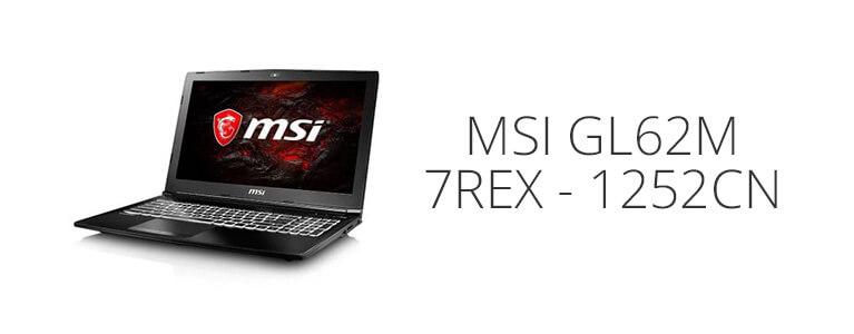 MSI GL62M 7REX 1252CNが約9.9万円に。i7搭載15.6インチディスプレイのゲーミングPC