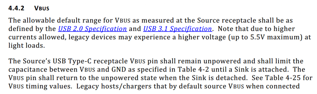 USB Type-C Specification Release 1.3, Section 4.4.2