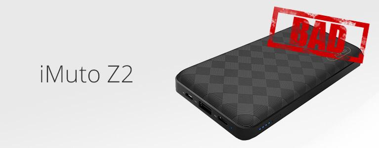 【規格適合・誇大広告】iMuto Z2 20100mAh 45W PD2.0&QC2.0 USB-C 充電器レビュー。20Vでは35Wまで