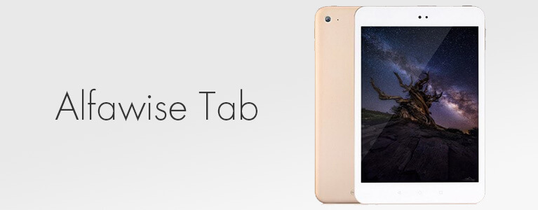 Alfawise Tabレビュー。7.9インチ・Xiaomi Mi Pad 3クローンのAndroidタブレット