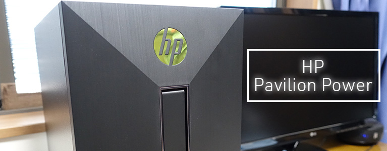 HP Pavilion Power Desktop 580-077jpレビュー。普通な見た目でi7-7700・GTX 1060搭載