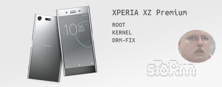 Bootloader UnlockしたXperia XZ Premiumを、XperiFIXでDRMパッチしてカメラを使えるようにする方法