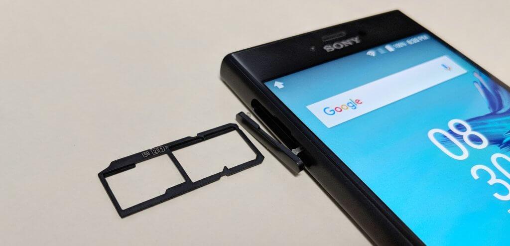SIM+microSDが使える