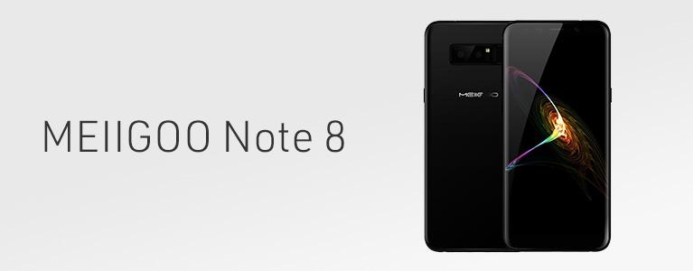 5.99インチMEIIGOO Note 8レビュー。見た目はNote 8、機能はNot 8