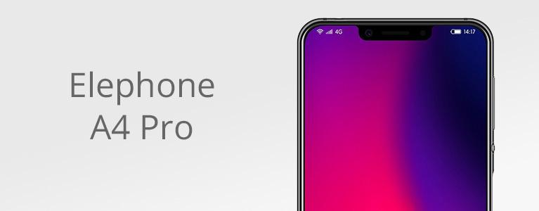格安でも背面ガラスのElephone A4 Proがセール中。Android 8.1搭載の狭額縁デザイン