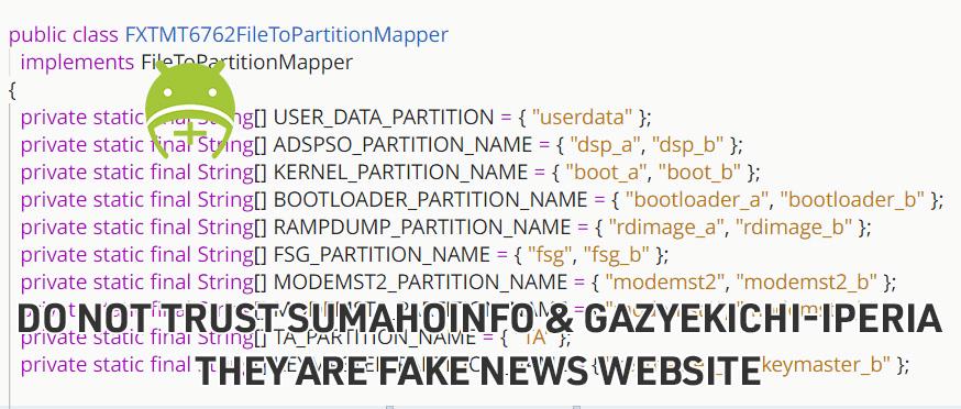 DO NOT TRUST SUMAHOINFO & GAZYEKICHI-IPERIA THEY ARE FAKE NEWS WEBSITE