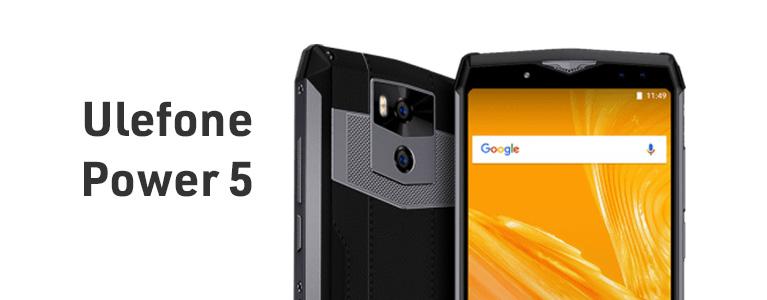 超大容量13000mAhバッテリーのUlefone Power 5が$259.99。6インチ大画面に6GB RAM搭載