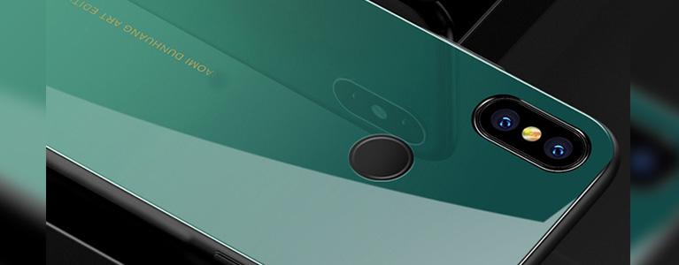 Mi MIX 2S用保護ガラスカバーレビュー。エメラルドグリーンっぽい見た目に