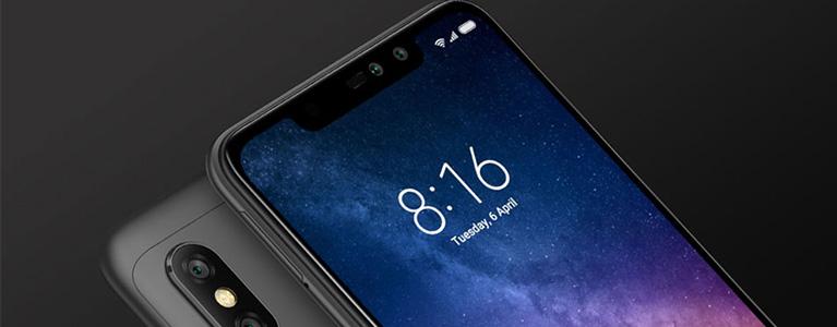 S636搭載のXiaomi Redmi Note 6 Proが2万円から。6.26インチ画面に4,000mAhバッテリー搭載