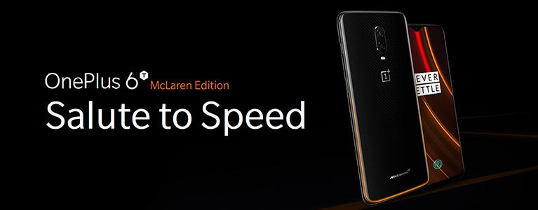 ついに10GB RAMの時代へ。20分で50%充電に対応の最速OnePlus 6T McLaren EditionがGearBestで販売中