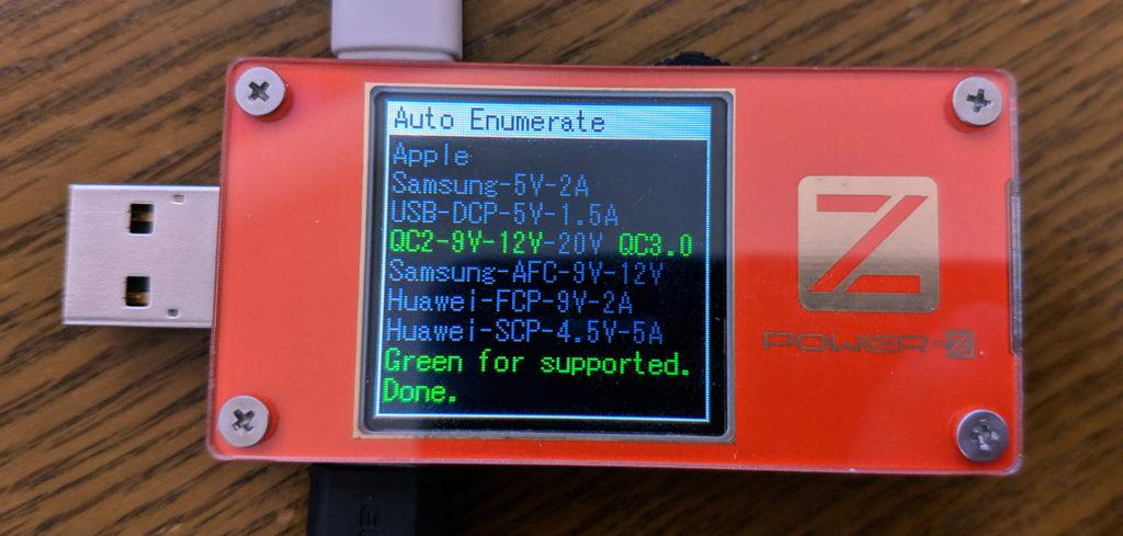 USB PD非対応端末の場合