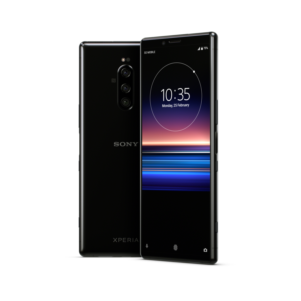 Sony Mobile、Xperia 1を発表。Qualcomm Snapdragon 855 搭載
