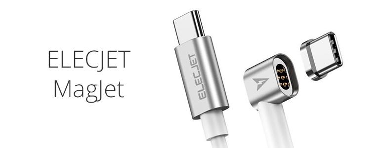 ELECJET MagJetマグネットUSB-Cケーブルレビュー。USB PD 87W充電可能、PCの落下防止にも効果アリ