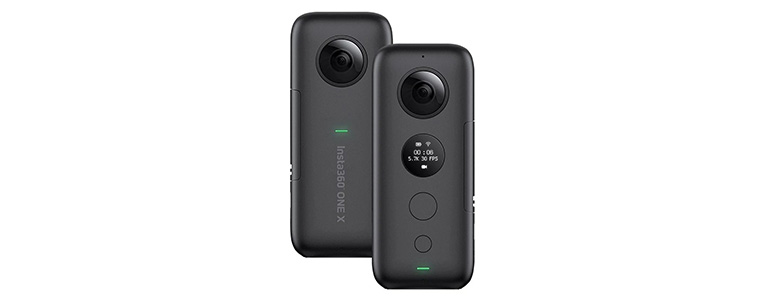 Insta360 ONE Xパノラマアクションカメラが特価。6軸ジャイロで5.7Kビデオ撮影を