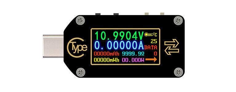 RD TC66Cレビュー。USB Type-Cポートに直接挿せるPD 100W対応万能テスター
