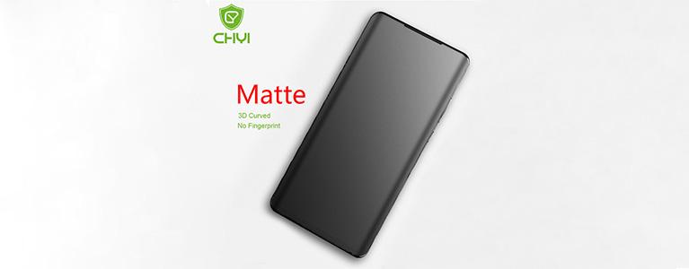 CHYI No Fingerprint Matte Film For OnePlus 7 Proレビュー。やはりエッジは悪い文明