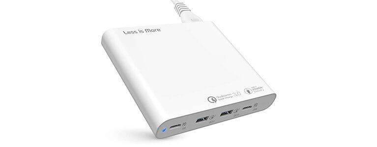 格安なのに2ポートUSB PD 100W。Less is More USB-C PD 3.0 4ポート充電器レビュー