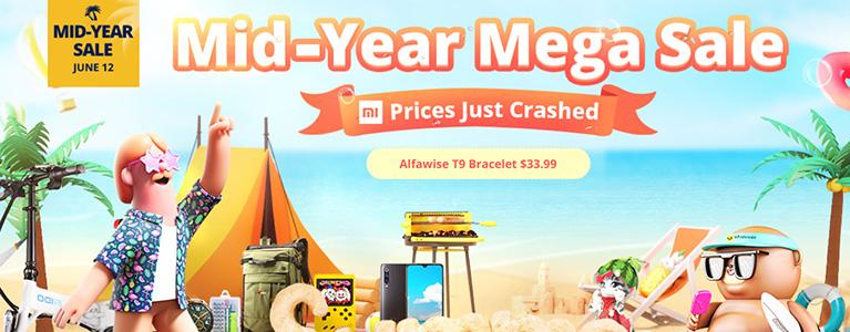 OnePlus 7 Pro 8+256GBが7.6万円、Mi 9が3.9万円など。GearBest、Mid-Yearセール開催