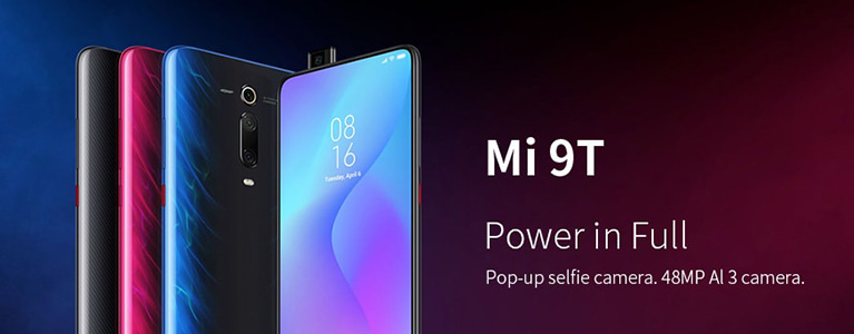 Xiaomi Mi 9TがGearBestで3.1万円に!ノッチなし全画面AMOLEDに4,000mAhバッテリー搭載
