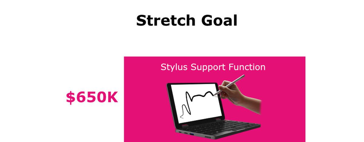 CHUWI MiniBookがスタイラス対応か。ストレッチゴールに無料HiPen H3も追加、割引販売も
