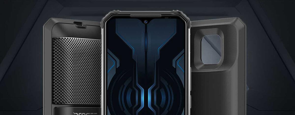モジュール式タフネススマホDOOGEE S95 Pro発売。最大8650mAhバッテリーにLTE B19対応