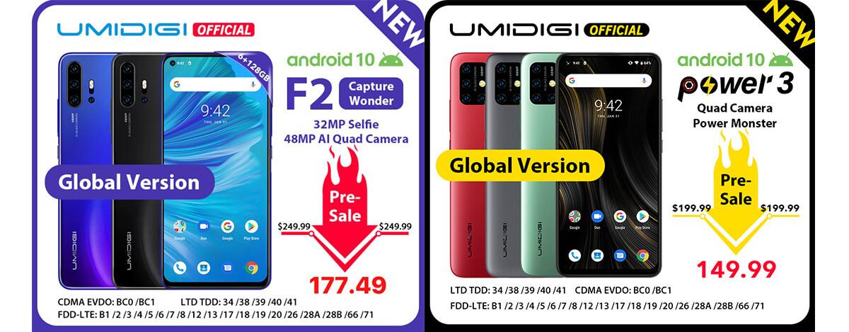 UMIDIGI F2が1.9万円、Power 3は1.6万円!48MPクアッドカメラ搭載機が11.11セールで過去最安に