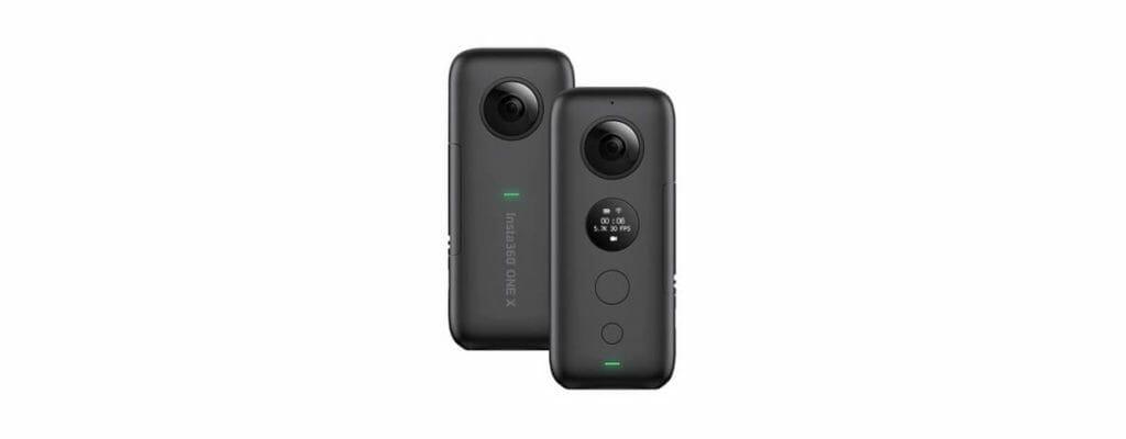 Insta360 ONE X アクションカメラが39,563円。6軸ジャイロ、5.7K動画に360°撮影可能