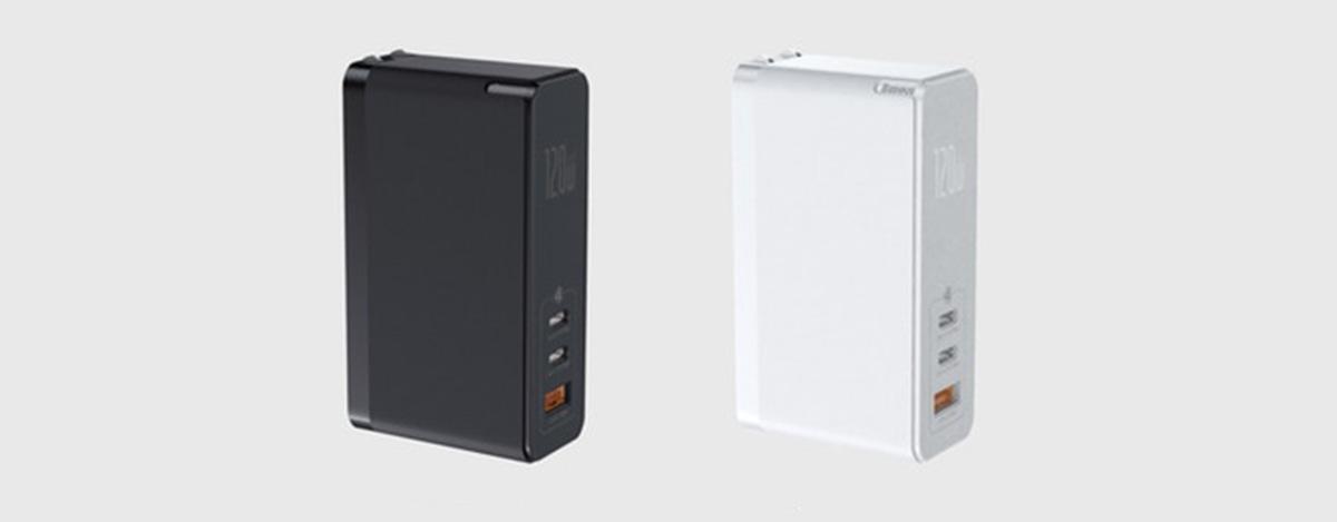Baseus Galio: カードサイズなのにUSB PD 100Wや多彩な急速充電対応の3ポート120W充電器