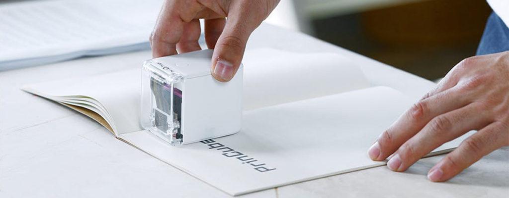 どこでも印刷、ハンディプリンタPrinCubeがCAMPFIREに登場。1.2万円で自由なハンドメイドを