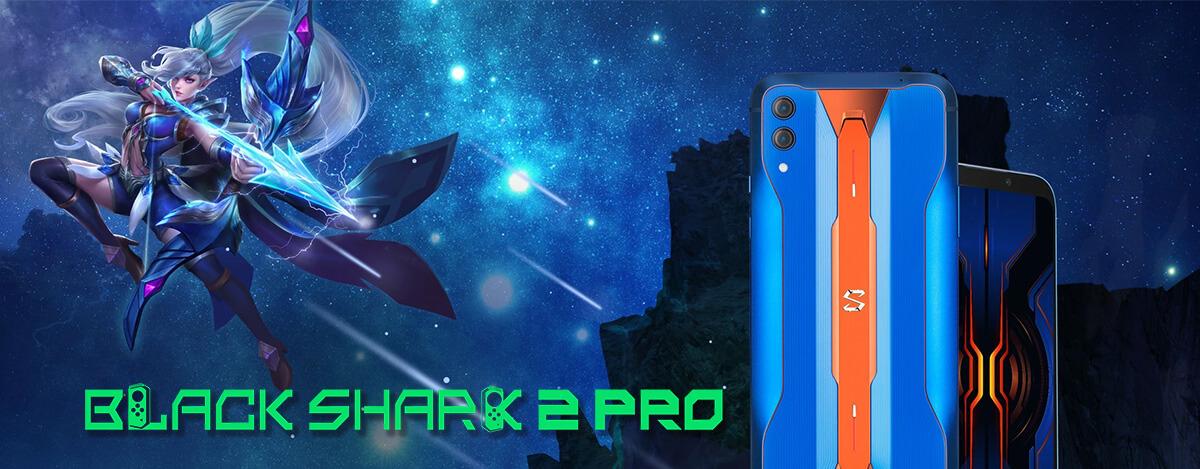 Black Shark 2 Pro、日本直送可能に。S855+搭載、感圧操作対応のド派手ゲーミングスマホ