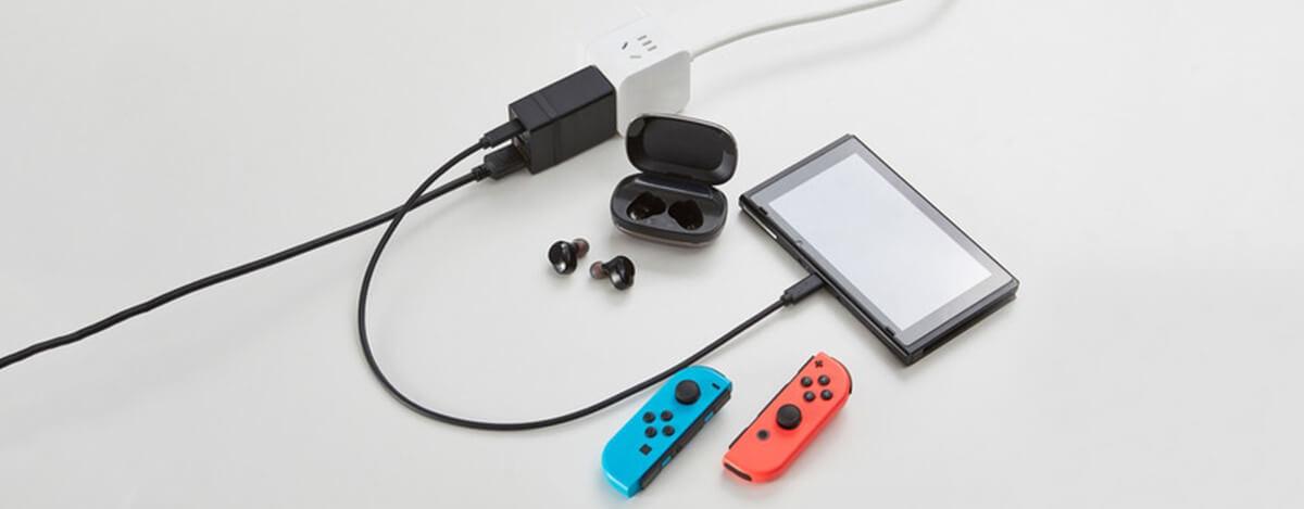 Nintendo Switch 互換ドックDongii。小型サイズでUSB PD 65WにBT5.0 / 低遅延aptX LL対応