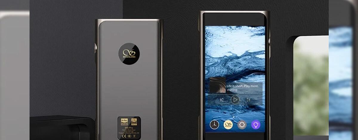 Android DAP、Shanling M6 Pro登場。デュアルAK4497EQ DAC、4.7インチ画面にS430搭載