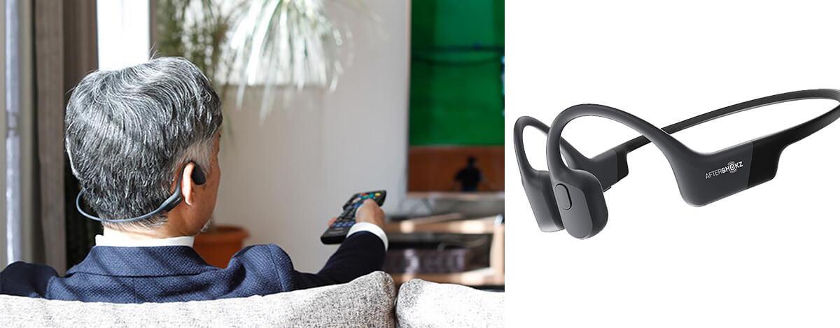 AfterShokz、テレビと繋げてすぐ使える骨伝導ヘッドホン発売。26gでaptX対応、テレワークにも