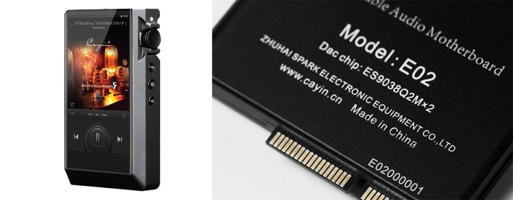 Cayin N6ii DAP用交換マザーボードE02登場。4.4mmバランス、デュアルES9038Q2M DACに