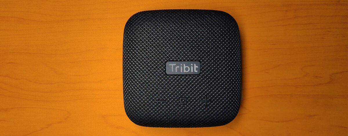Tribit StormBox Micro Bluetoothスピーカーレビュー。9W、IPX67防水で8時間の電池持ち