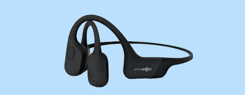 テレビと繋げてすぐ使える骨伝導ヘッドホンAfterShokz AS801レビュー。超軽量で耳が痛みにくい