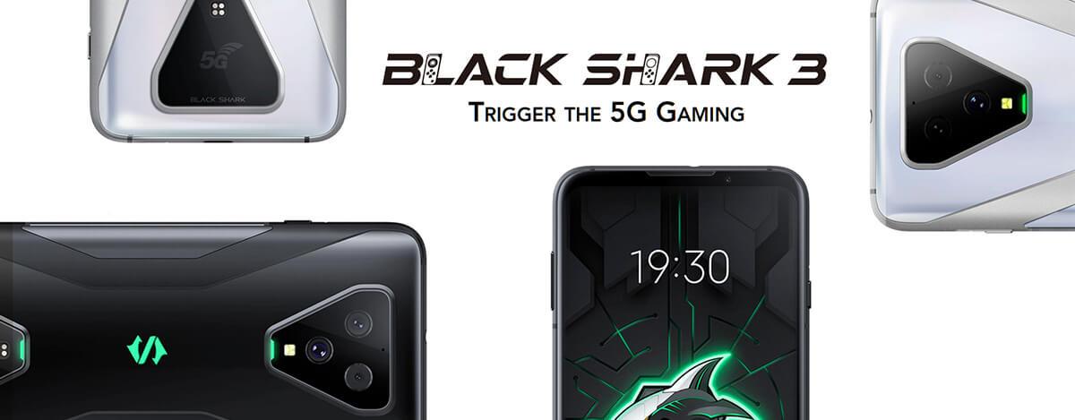Black Shark 3が6万円。S865、遅延24msで65W充電できる5Gゲーミングスマホ、日本直送可
