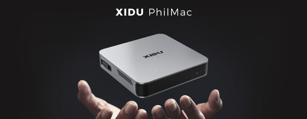 XIDU PhilMac ミニPC、Intel Celeron J4115搭載。322g、8GBメモリ+128GBストレージ