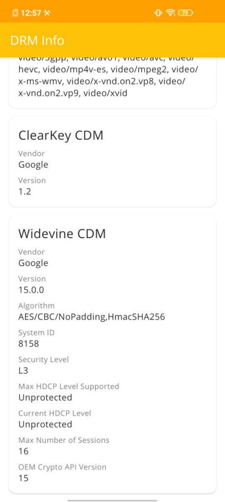 Widevine L3
